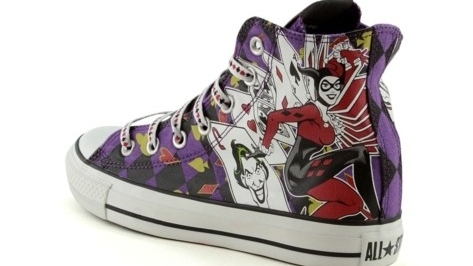 Converse All Star Chuck Taylor Harley Quinn Fall Winter 2013
