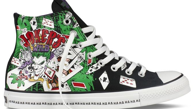 Converse All Star Chuck Taylor The Joker Fall Winter 2013