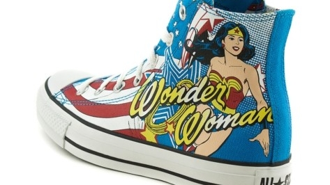 Converse All Star Chuck Taylor Wonder Woman Fall Winter 2013
