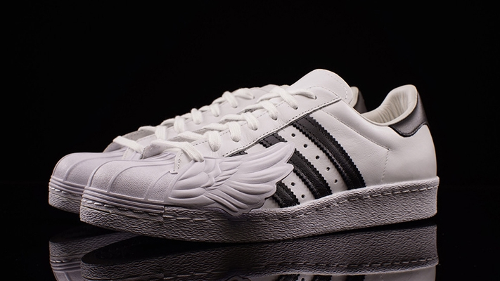 Adidas Superstar Foundation Metallic Silver On feet Superstar
