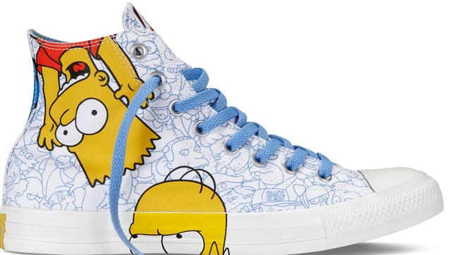 converse the simpsons homer bart