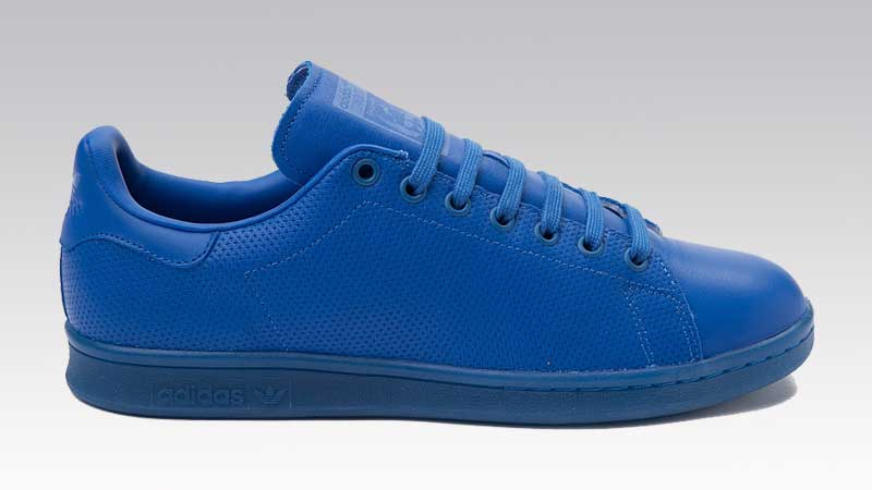 all blue stan smith