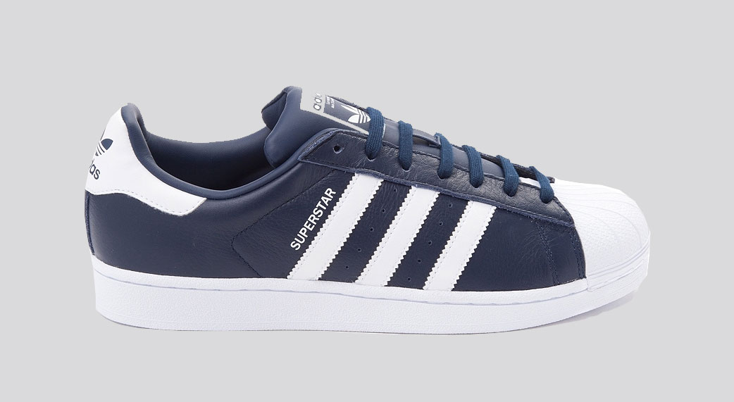 adidas originals superstar navy white soleracks. Black Bedroom Furniture Sets. Home Design Ideas