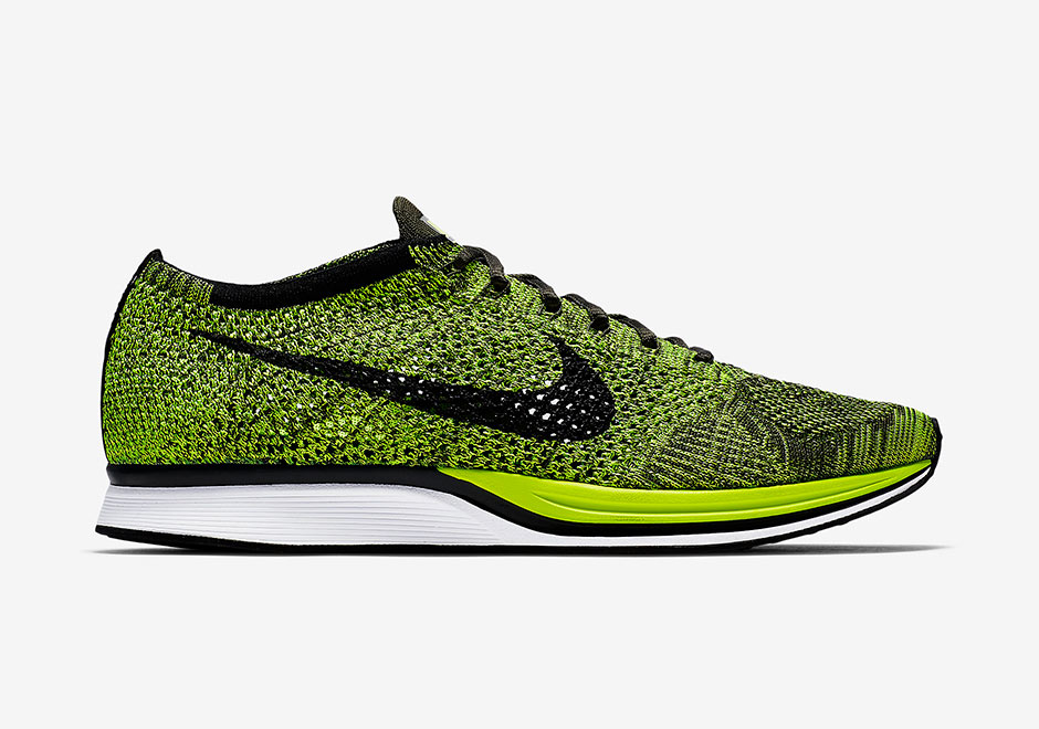 Nike Flyknit Racer Running Shoes Sale $79.98