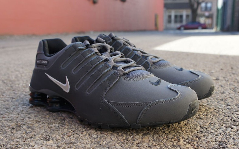 nike air shox flyknit review
