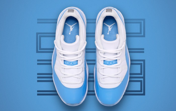 Air Jordan 11 Low UNC University Blue