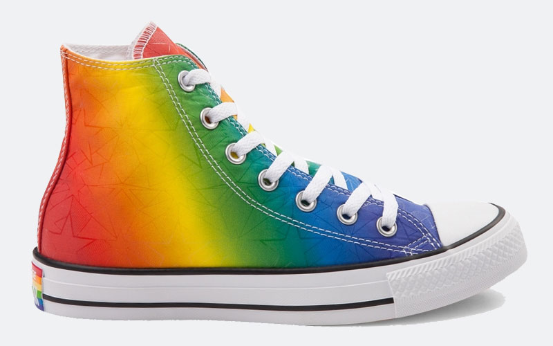 Converse LGBT Pride Shoes Collection Rainbow 157374C