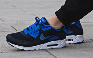 Nike Air Max 90 Ultra 2.0 Black Blue Sale