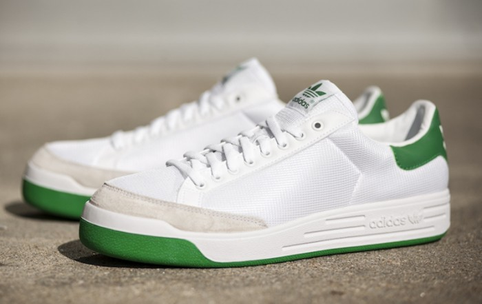 adidas Rod Laver White Green Navy Sale
