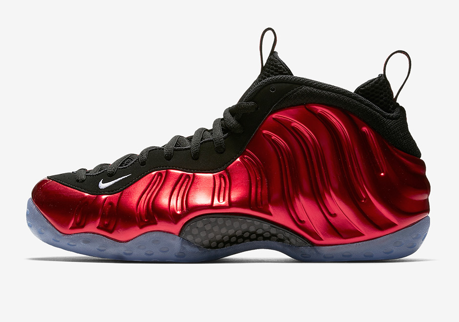 Nike Air Foamposite Gym Red For Sale