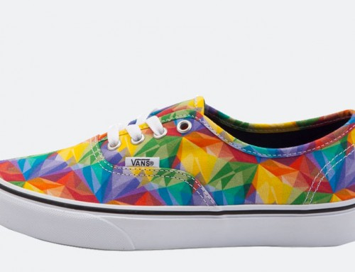 Vans Rainbow Shoes- Celebrate Summer and LGBT Pride Month