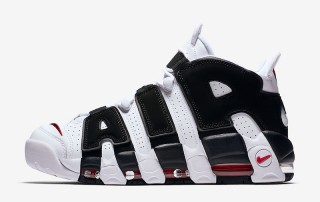 NIKE Air More Uptempo Chicago Bulls Black White