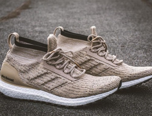 "Now Available – adidas Ultra Boost All Terrain Mid LTD ""Trace Khaki"""