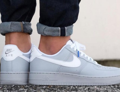 Nike Air Force 1 Low Wolf Gray On Sale $63