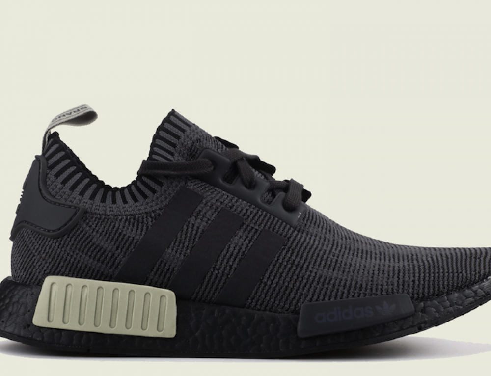 Now Available – adidas NMD R1 Primeknit Black Utility