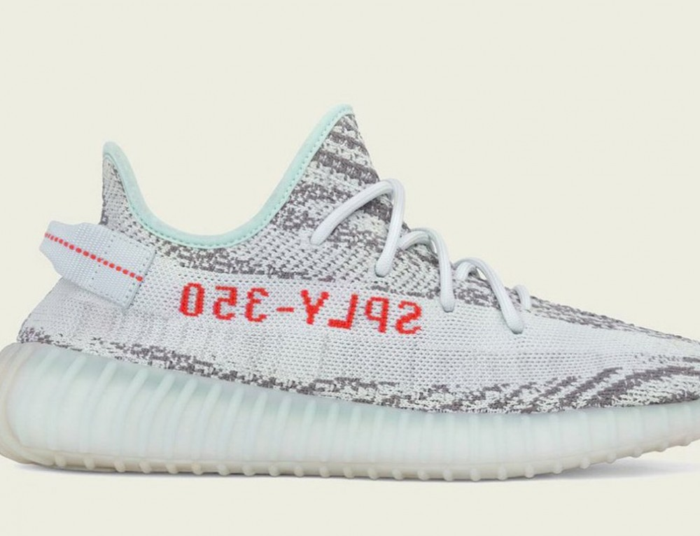Now Available- adidas Yeezy Boost 350 V2 'Blue Tint'